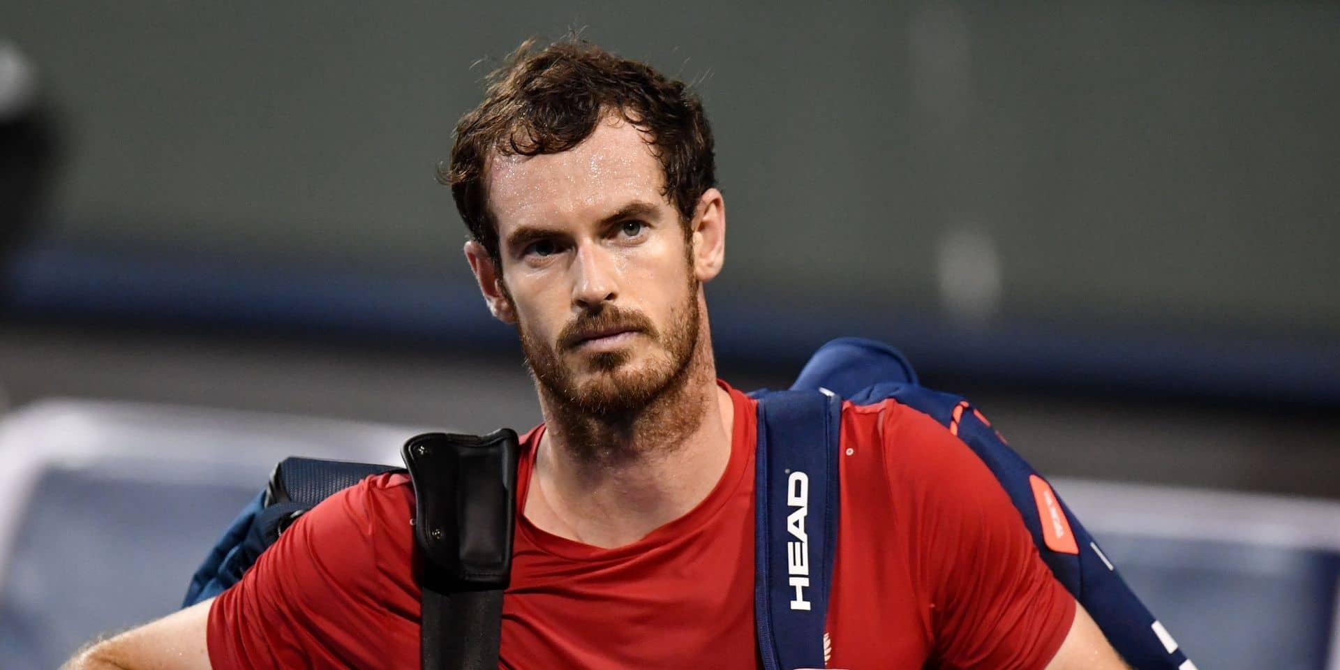 """Andy Murray croit en son retour: """"Je m'entraîne pour être prêt à jouer à Miami"""""""
