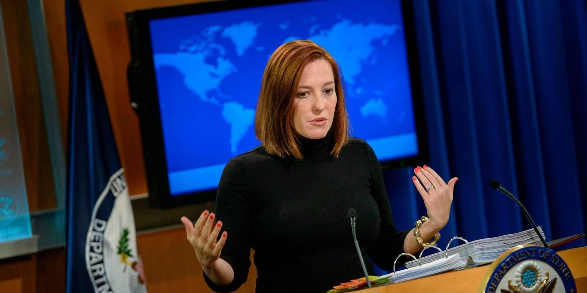 Jen Psaki, ancienne directrice de la communication sous l'administration Obama, sera chargée désormais de la presse sous Biden.