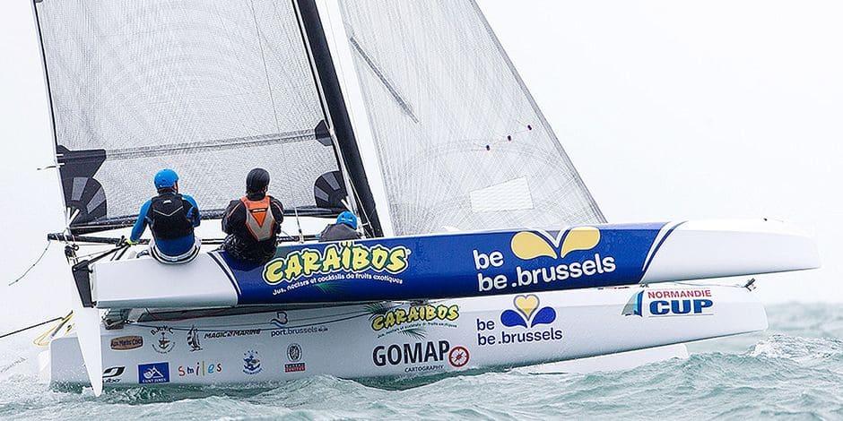 """Voile: Le """"Bel-Yachting"""" fête ses 25 ans de Tour de France - La Libre"""
