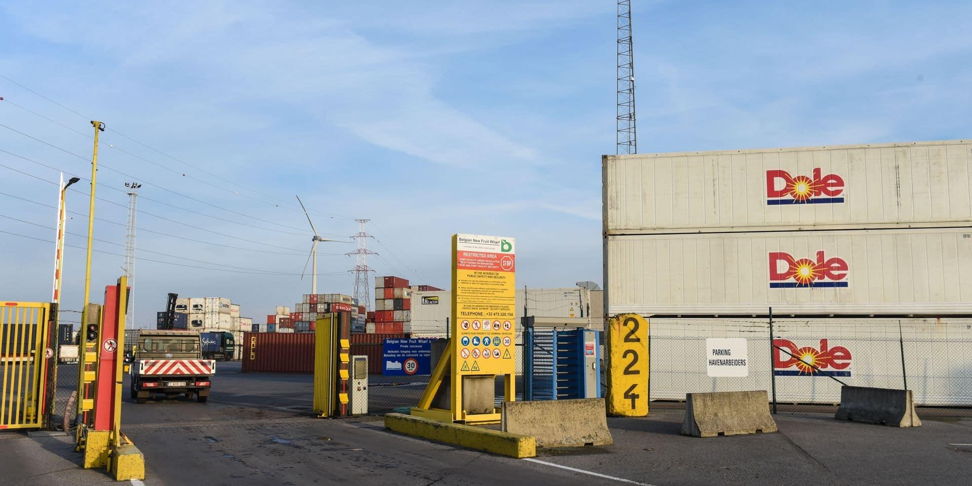 Conteneurs port Anvers