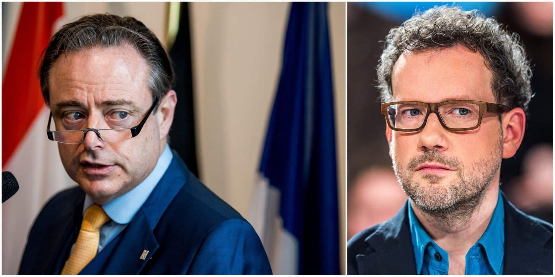 """Dave Sinardet décortique l'appel lancé par De Wever: """"Le front flamand se limite à un front N-VA/CD&V"""""""