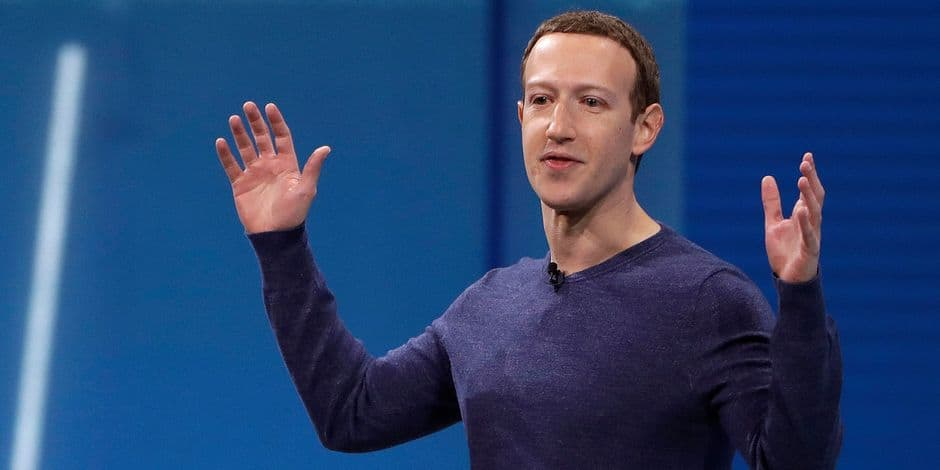 Polémique sur le refus de Mark Zuckerberg de bannir les négationnistes — Facebook
