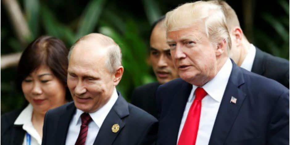 Critiqué pour ses déclarations devant Poutine, Trump dit qu'il s'est mal exprimé