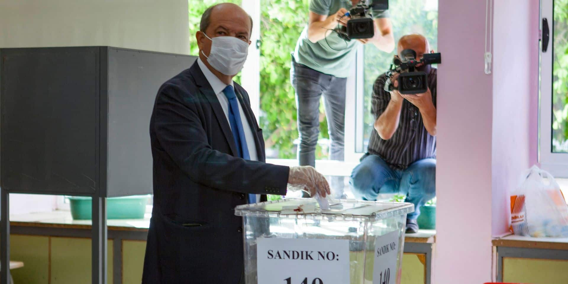 Election à Chypre-Nord: le dirigeant sortant favori face au candidat d'Ankara