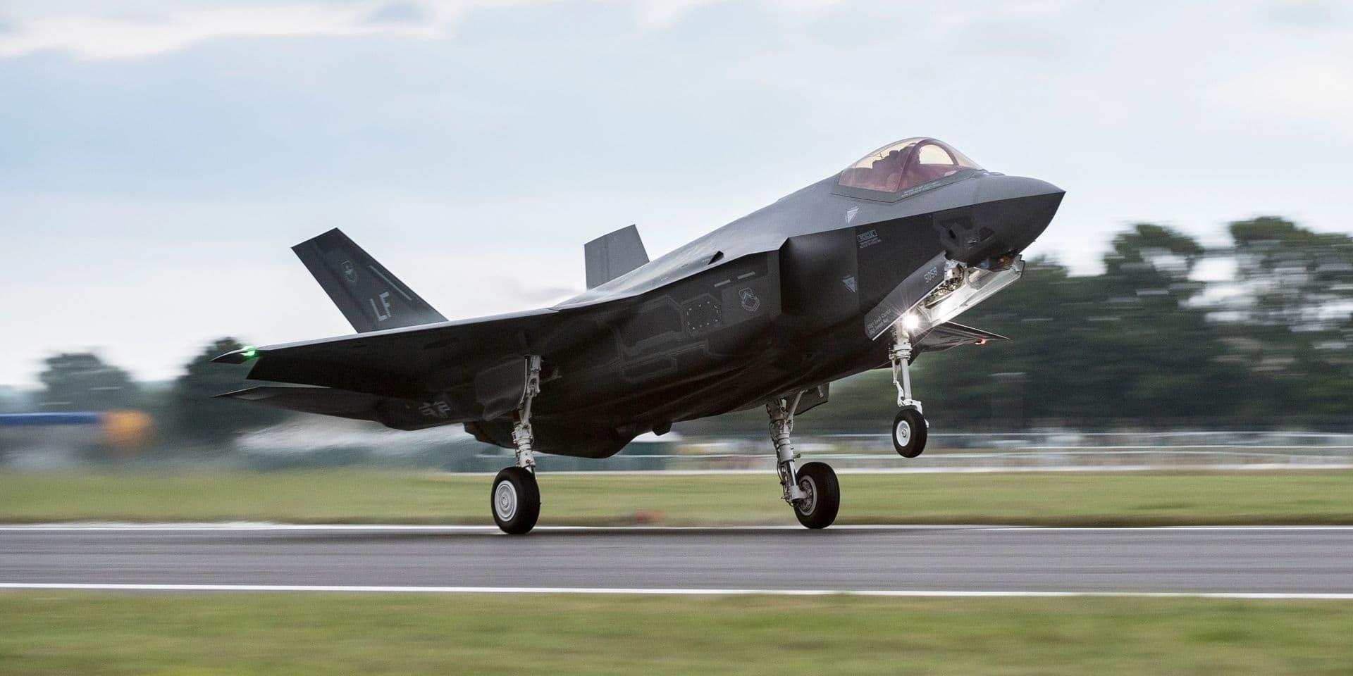 L'Otan veut que la Belgique se dote de onze F-35 supplémentaires