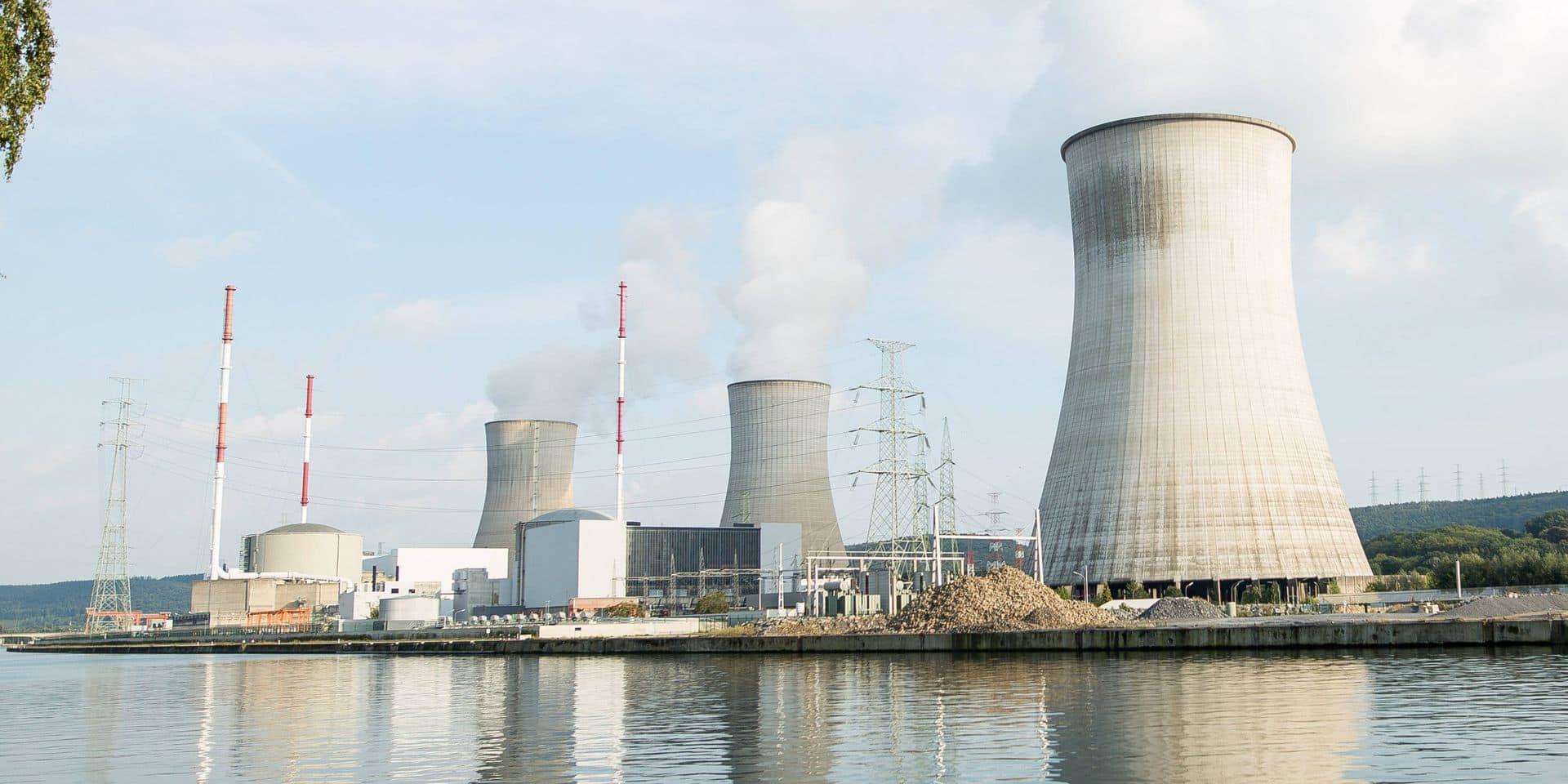 Le site nucléaire de Tihange.