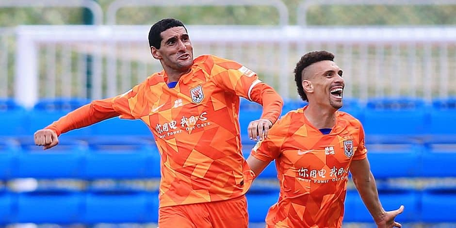Belges à l'étranger: Marouane Fellaini marque encore et Shandong Luneng rejoint la finale de la Coupe de Chine