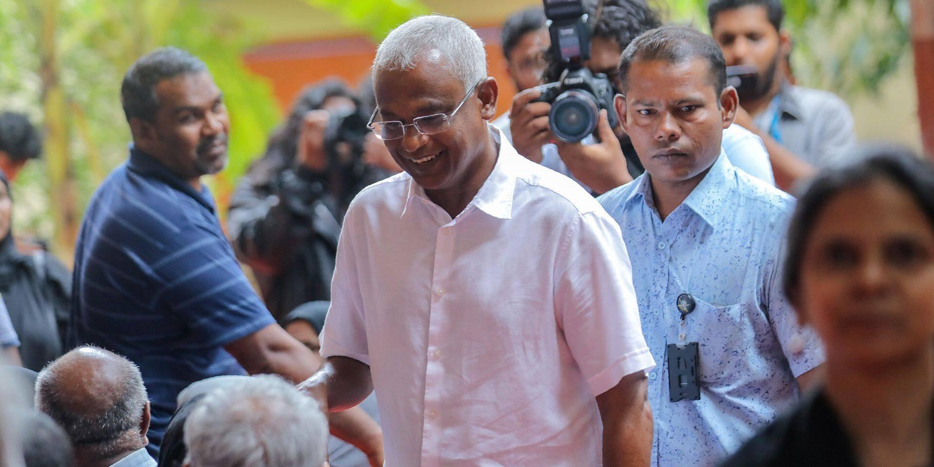 Maldives : le leader de l'opposition revendique sa victoire à la présidentielle