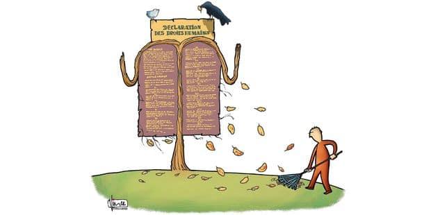 Une Déclaration universelle des droits de l'homme qui s'érode - La Libre