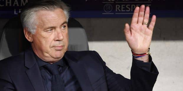 Carlo Ancelotti en route vers Naples - La Libre