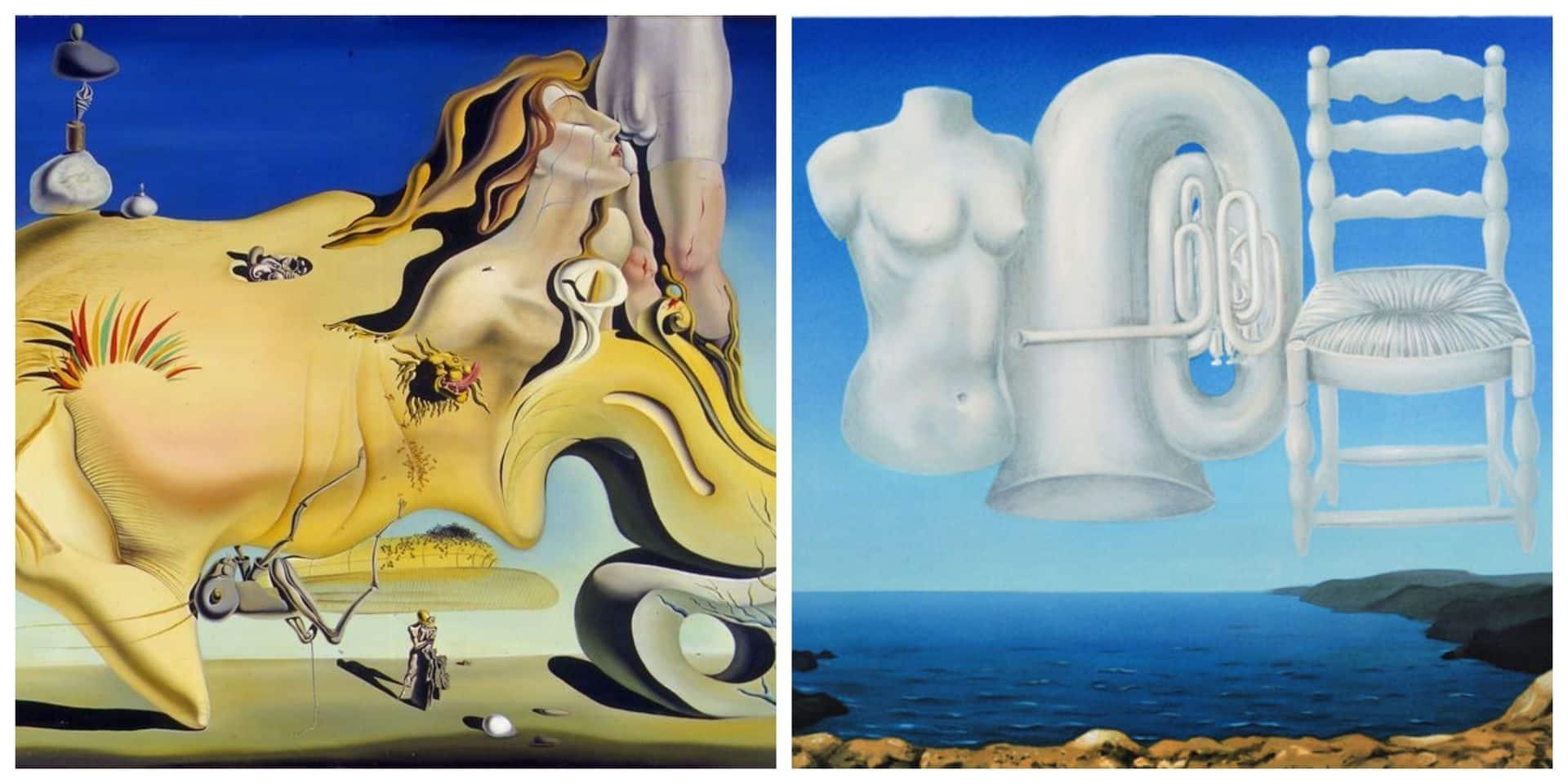Dalí-Magritte 1929 : Les temps menaçants