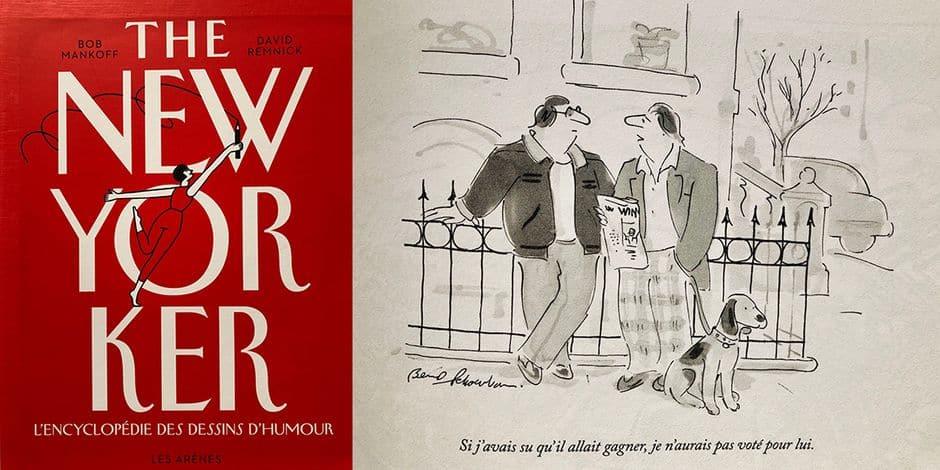 """Les célèbres dessins du """"New Yorker"""" réunis dans une hilarante """"encyclopédie"""" en français"""