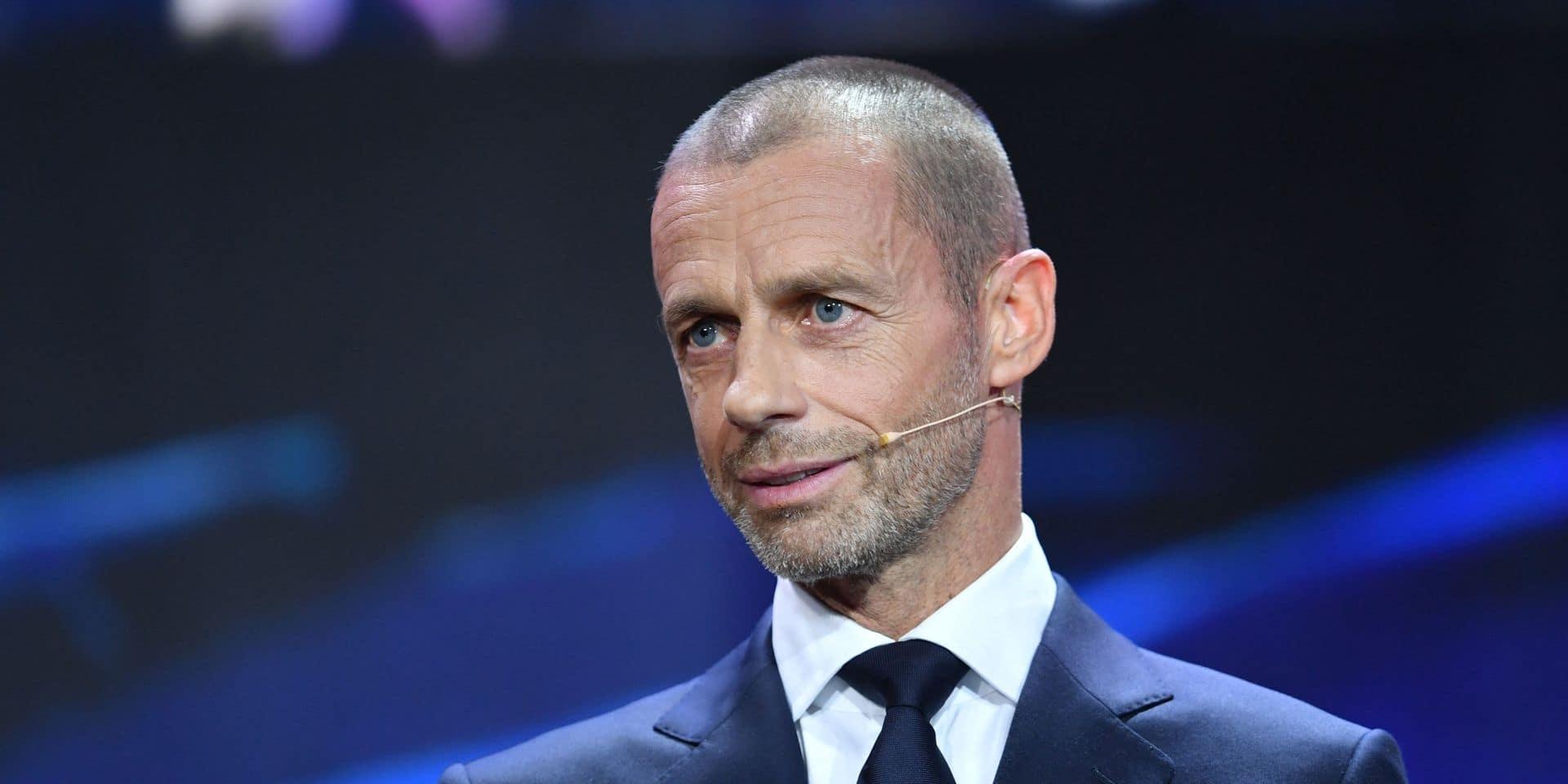 Le président de l'UEFA se veut optimiste et prédit que l'Euro de cet été se jouera devant des spectateurs