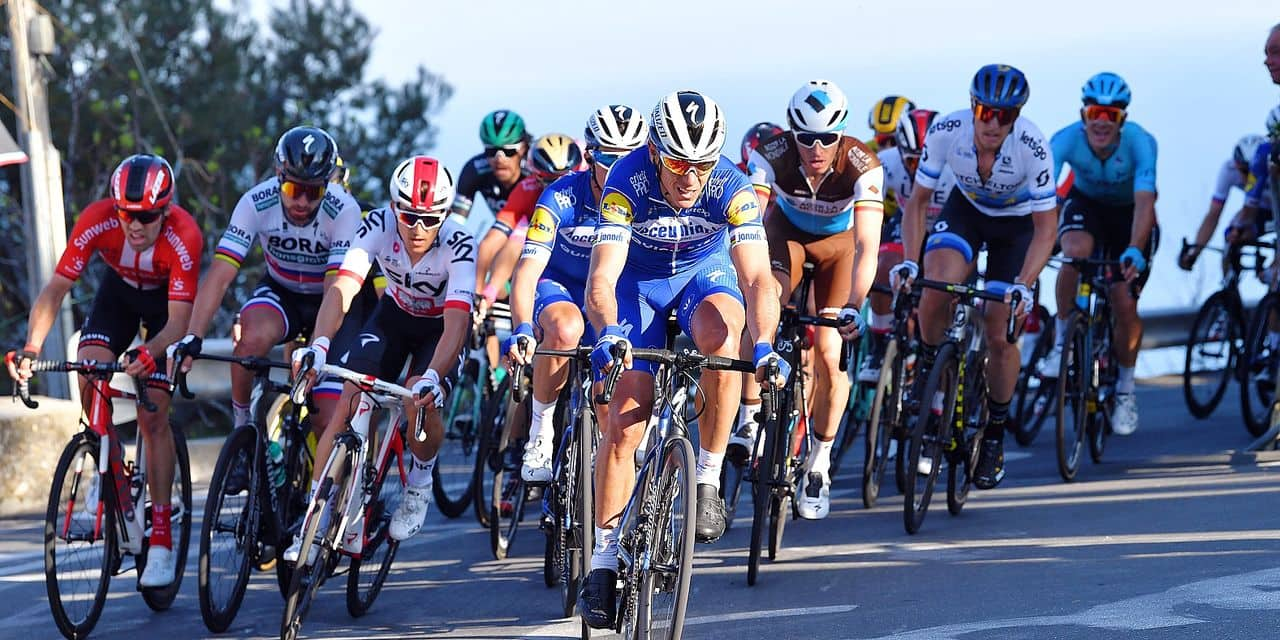 Belgian Philippe Gilbert of Deceuninck - Quick-Step rides the 110th edition of the 'Milano-Sanremo' one day cycling race, 294 km from Milan to Sanremo, Italy, Saturday 23 March 2019. BELGA PHOTO YUZURU SUNADA FRANCE OUT