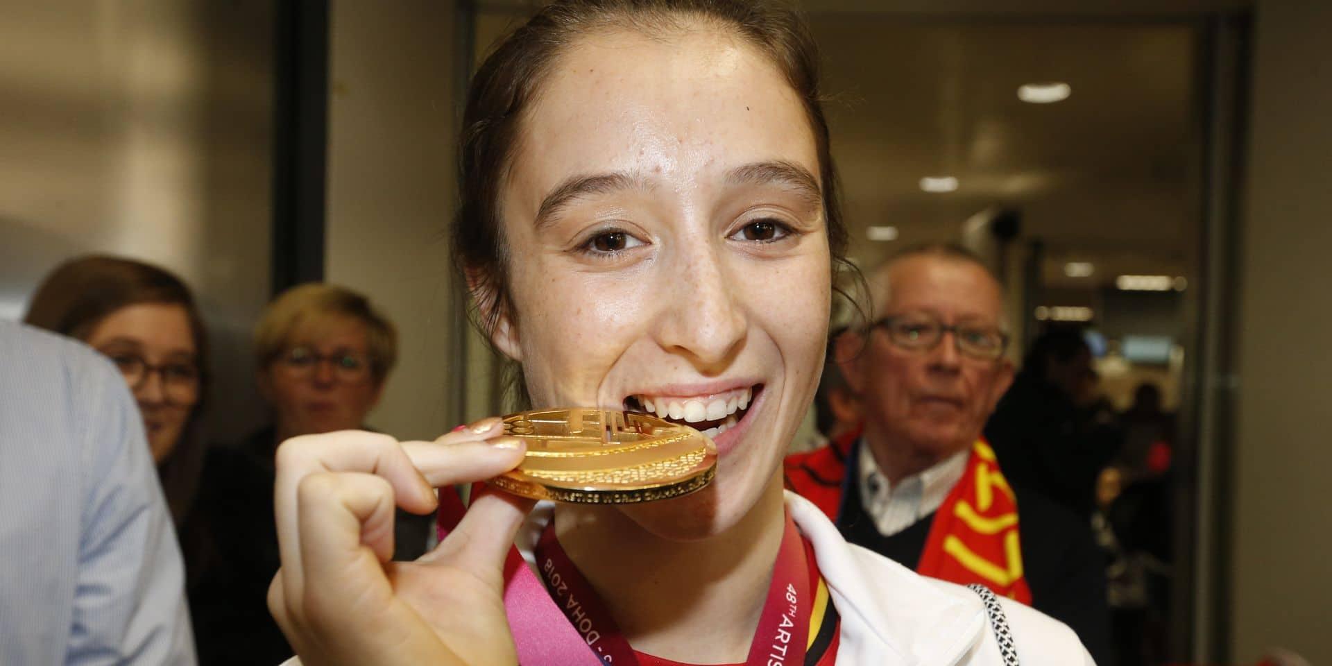 Le Mérite Sportif 2018 attribué à Nina Derwael, première gymnaste belge championne du monde