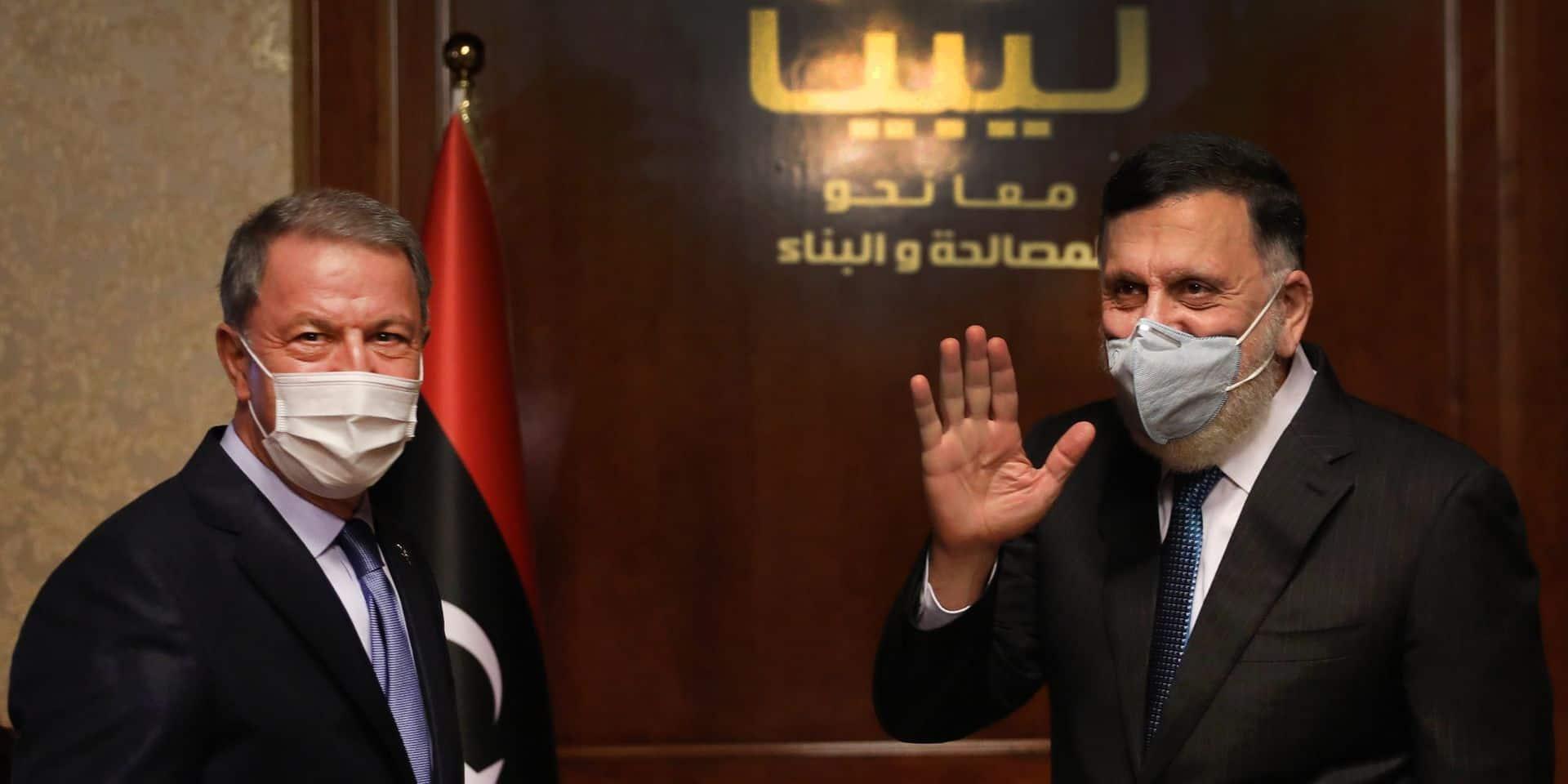 Le ministre turc de la Défense en Libye