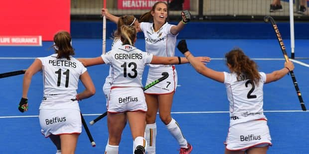 Hockey: Les Belges qualifiées en balayant le Japon (3-6) - La Libre