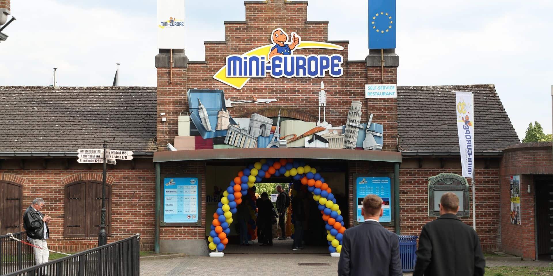 """Pour le directeur de Mini-Europe Thierry Meeùs, """"la page Bruxelles est tournée"""""""