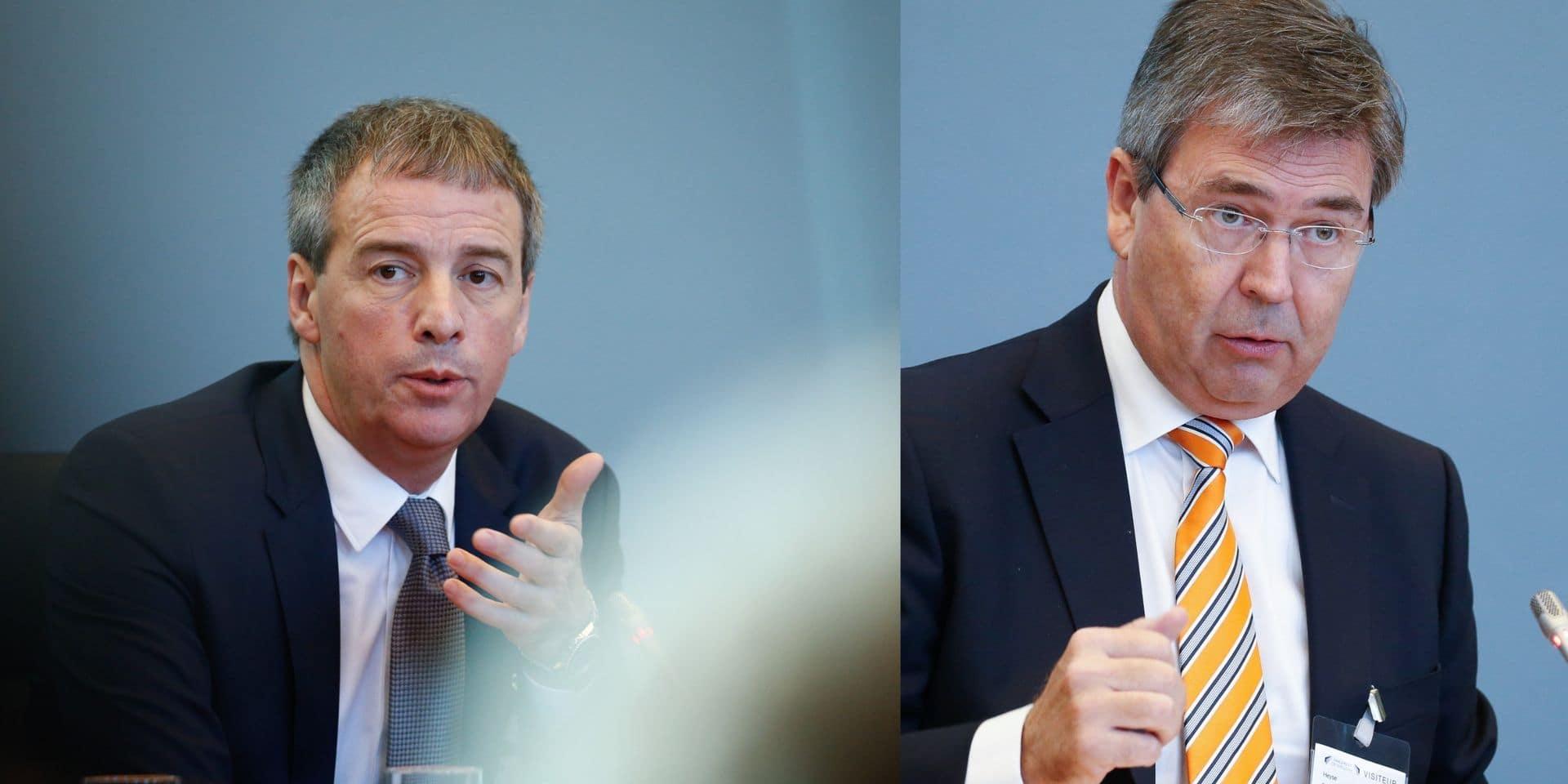 Stéphane Moreau et Pol Heyse sous mandat d'arrêt