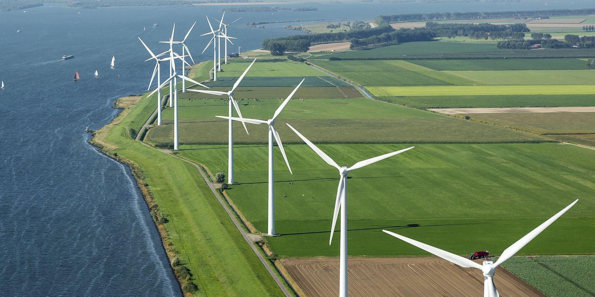 Le plus grand parc éolien de Flandre est opérationnel