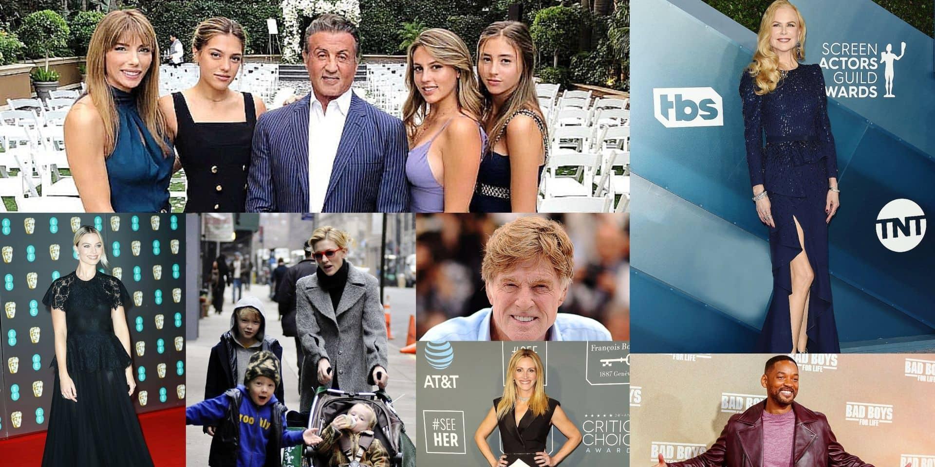 Will Smith, Stallone, Julia Roberts, Nicole Kidman, Hugh Laurie,... : pour ces stars d'Hollywood, le bonheur, c'est…