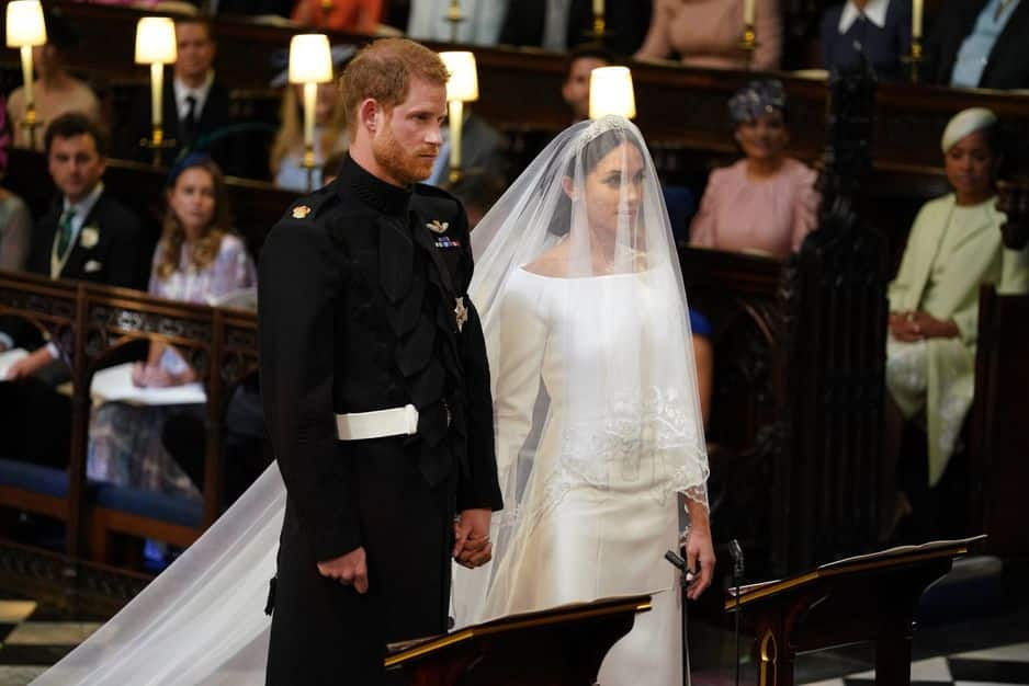 Meghan Markle et le prince Harry se sont dit oui !