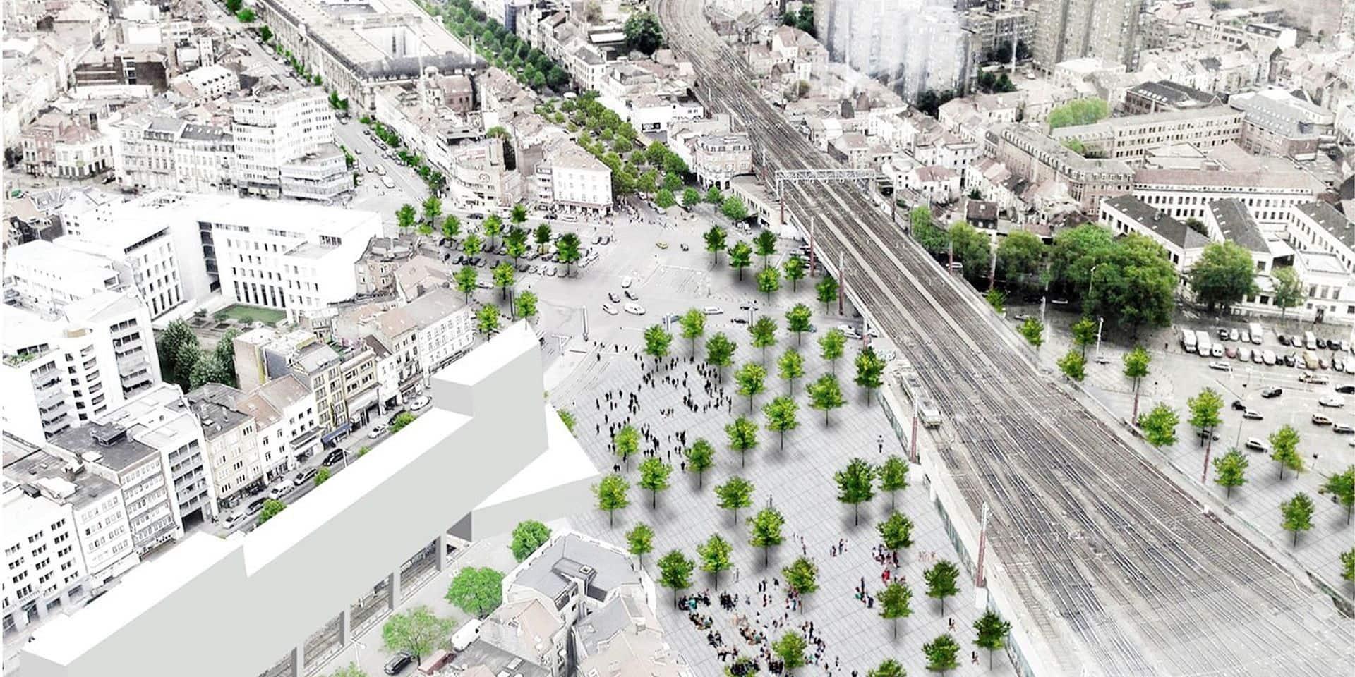 Gare du Midi: 350 places de stationnement seront supprimées