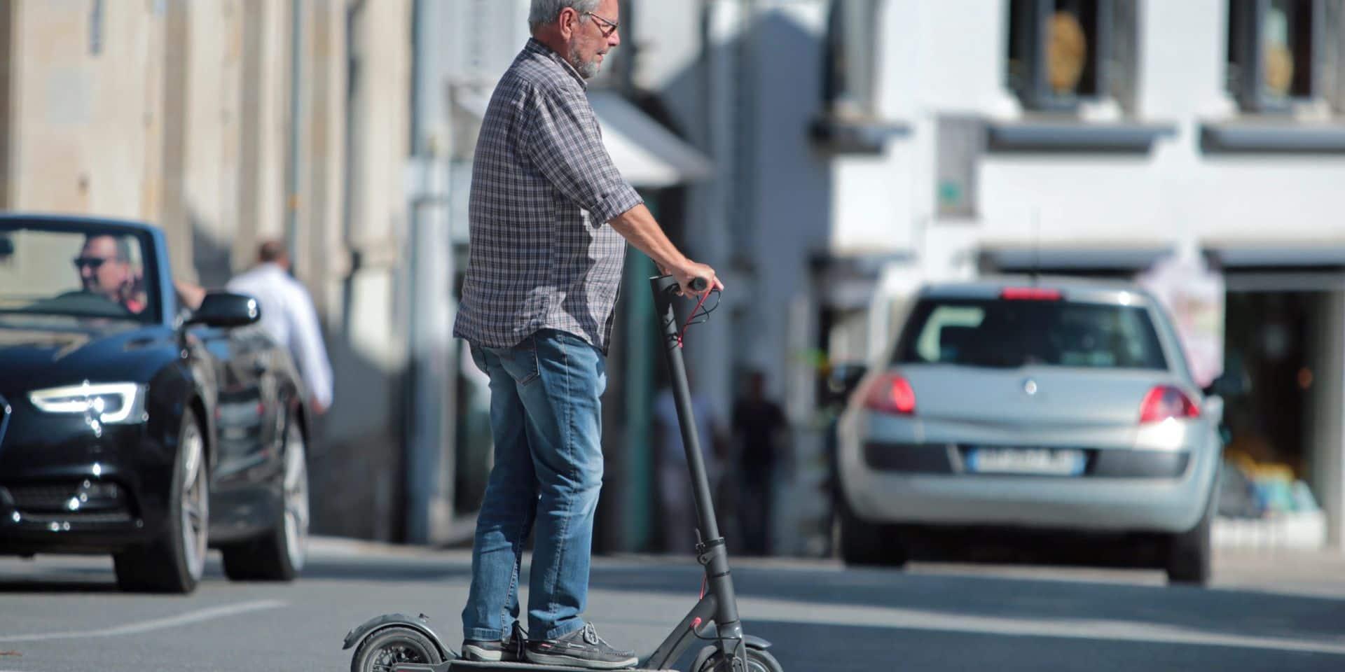 La trottinette électrique n'est pas le moyen de transport le moins polluant
