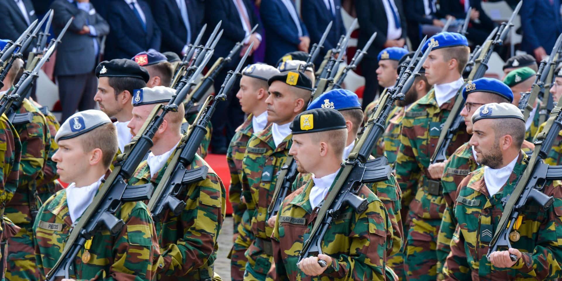 La Belgique est l'un des rares pays de l'OTAN où les dépenses militaires ont diminué depuis 2014