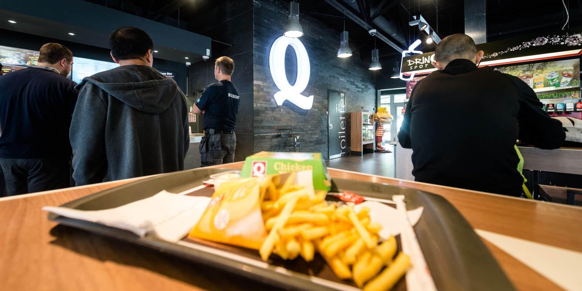 Quick, Burger King et McDonald's ferment toutes leurs activités, y compris la livraison et le take away