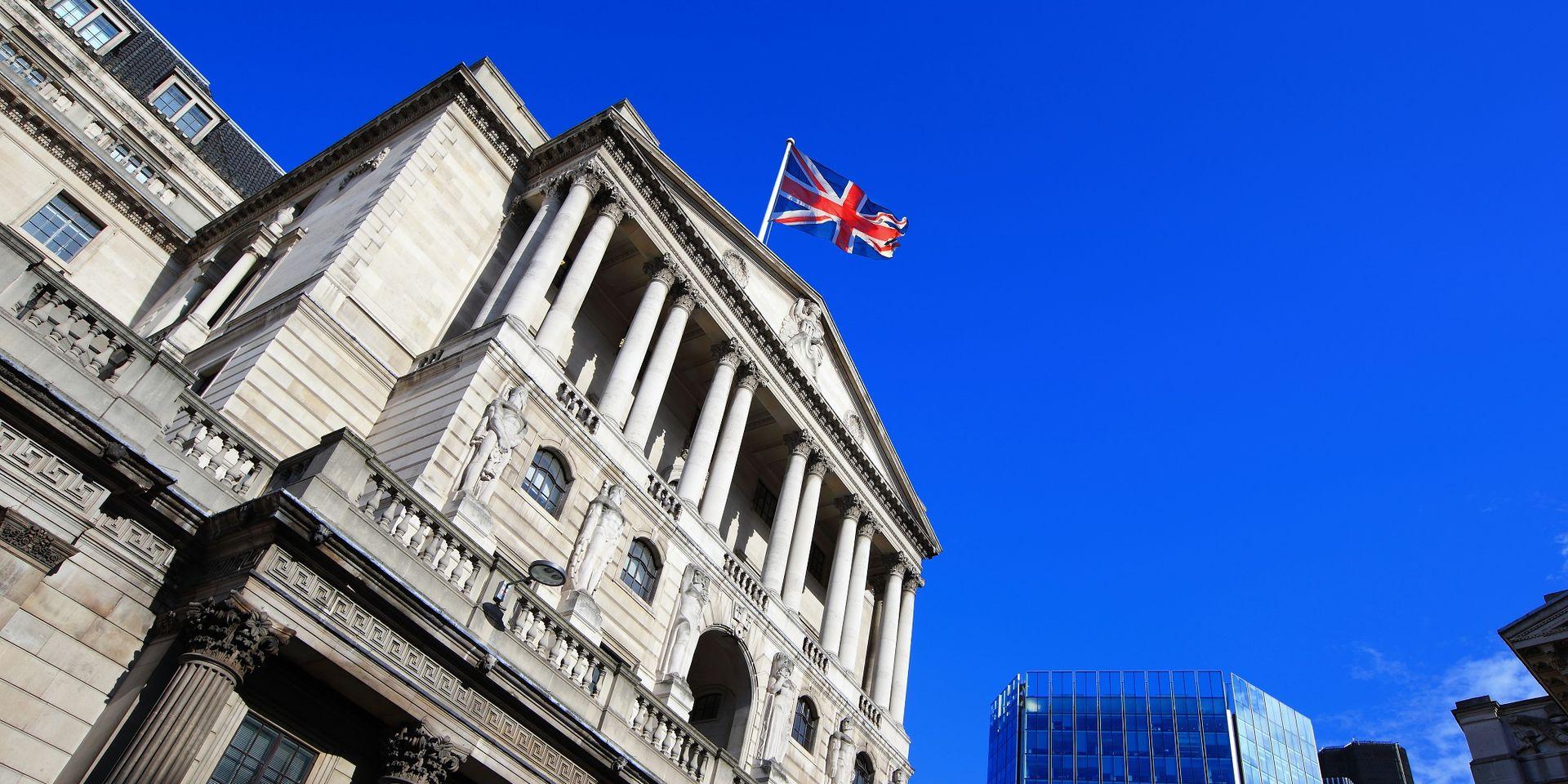 GB: la Banque d'Angleterre s'attend à la pire récession depuis au moins un siècle