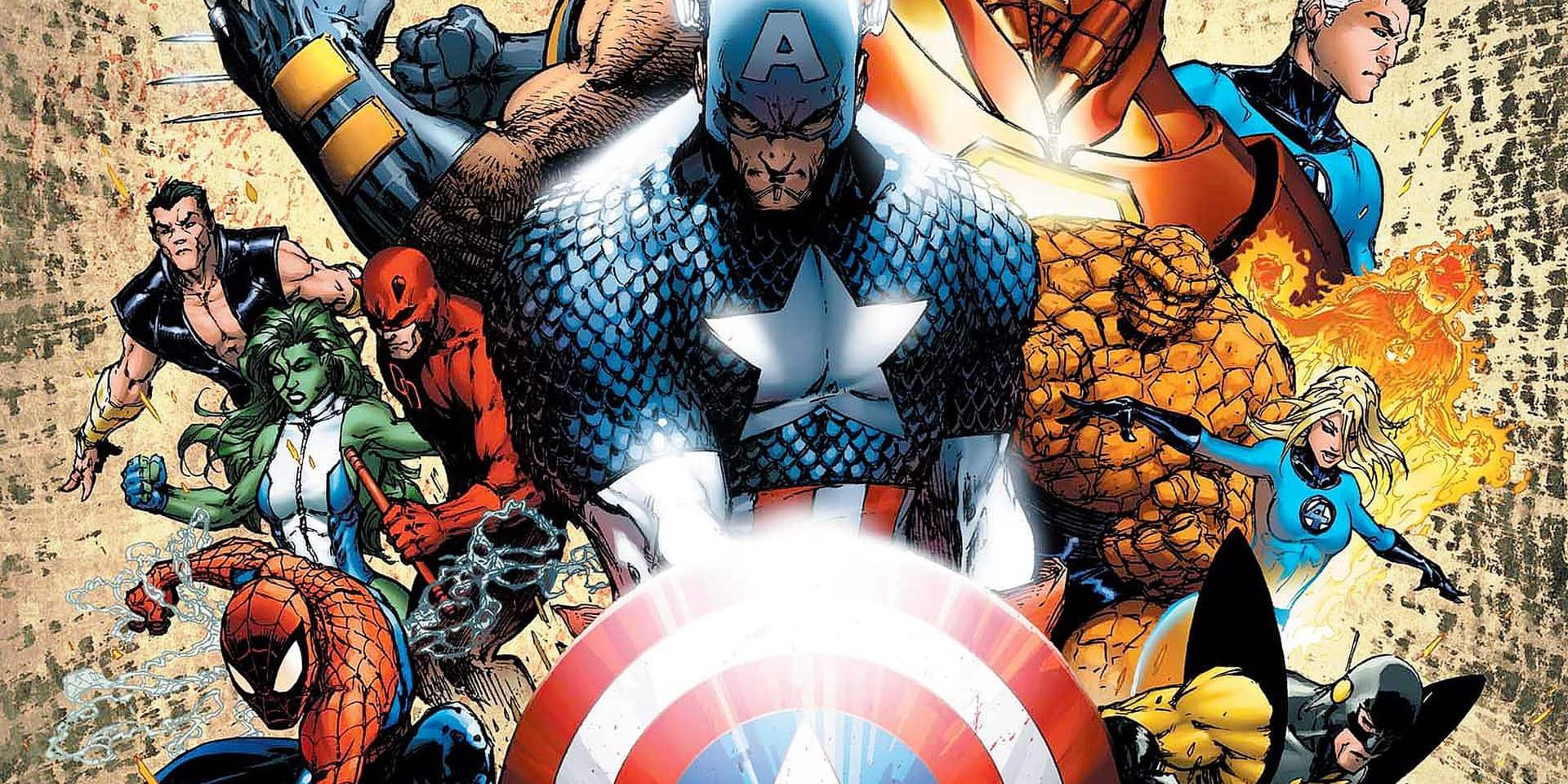 Marvel superstar