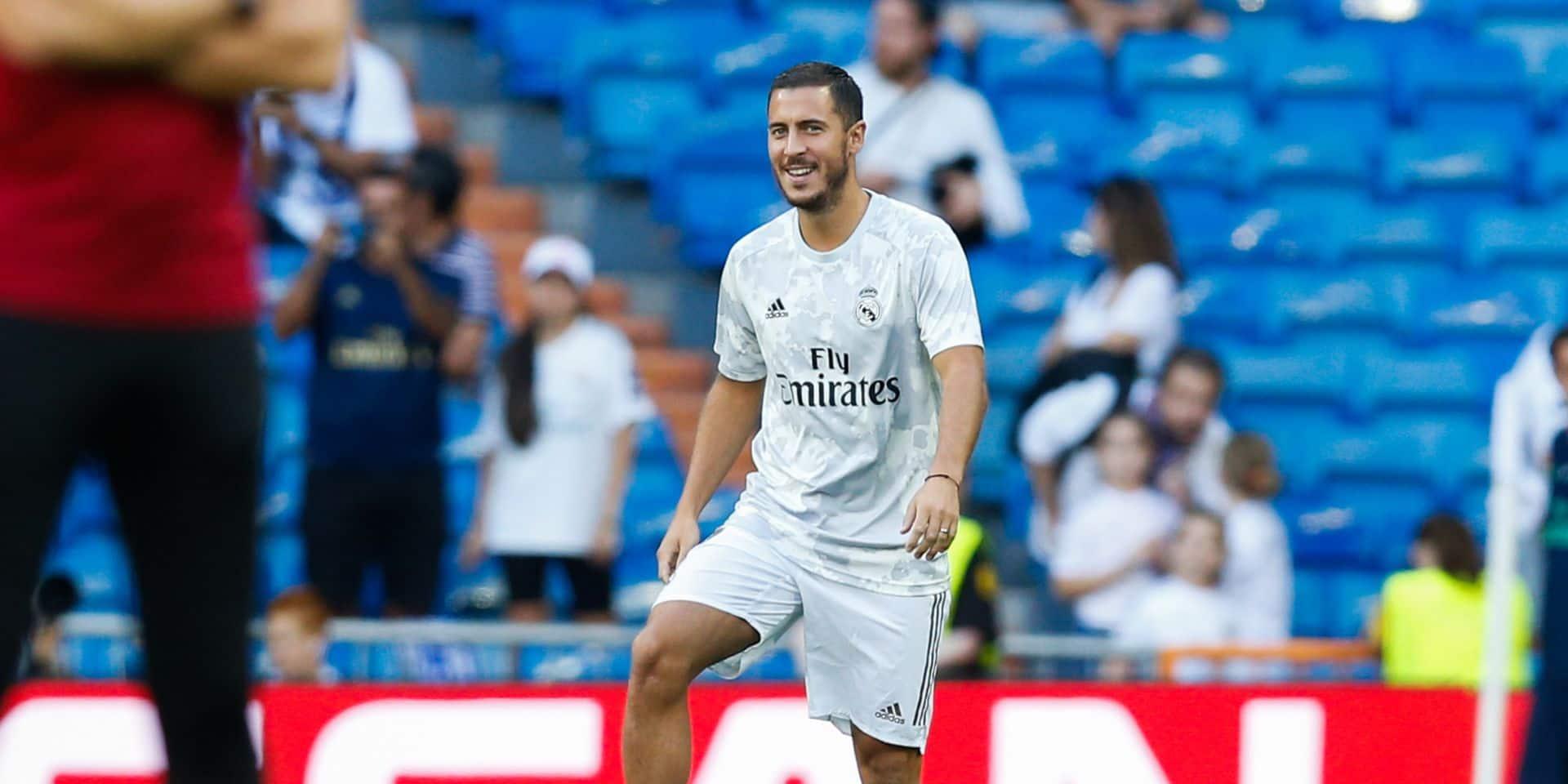 Les Belges à l'étranger: Zidane a confiance en Hazard
