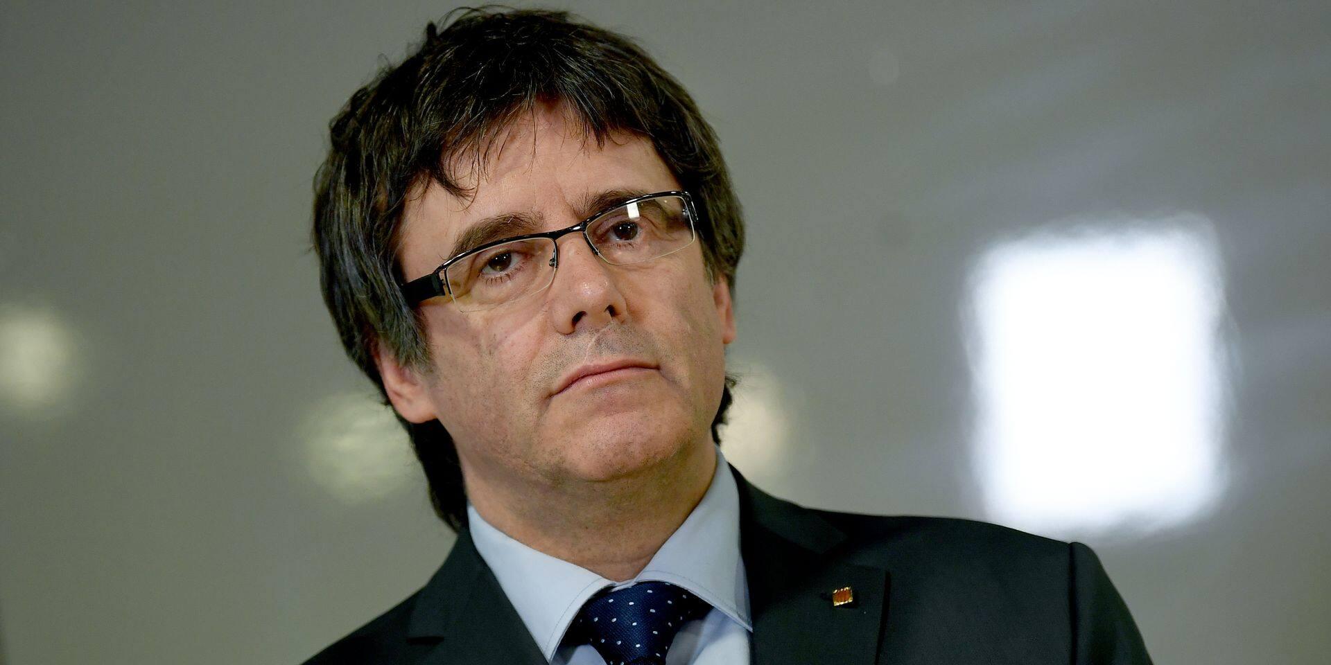 """Carles Puigdemont: """"Nous voulons internationaliser le plus possible l'affaire catalane"""""""
