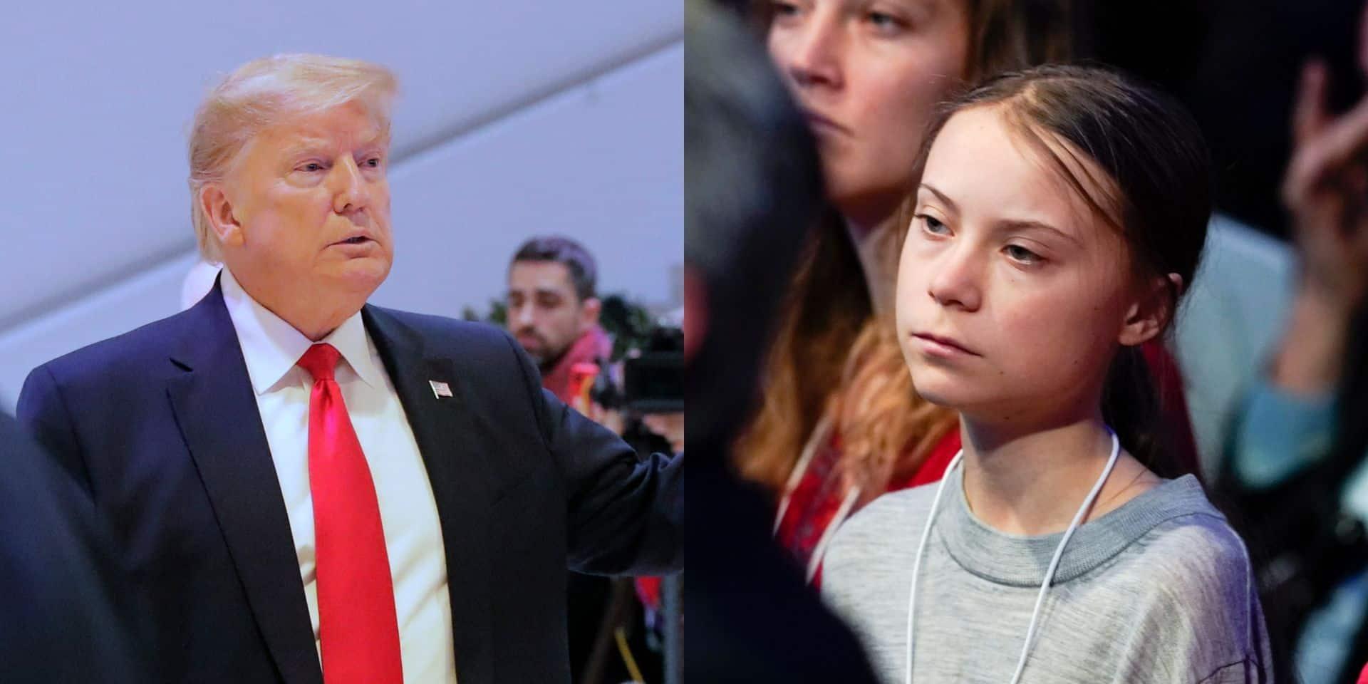 "Donald Trump ""aurait adoré"" rencontrer Greta Thunberg à Davos"