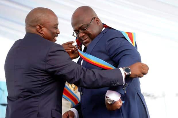 RDC: Le président Félix Tshisekedi fait un malaise pendant son discours d'investiture-VIDEO