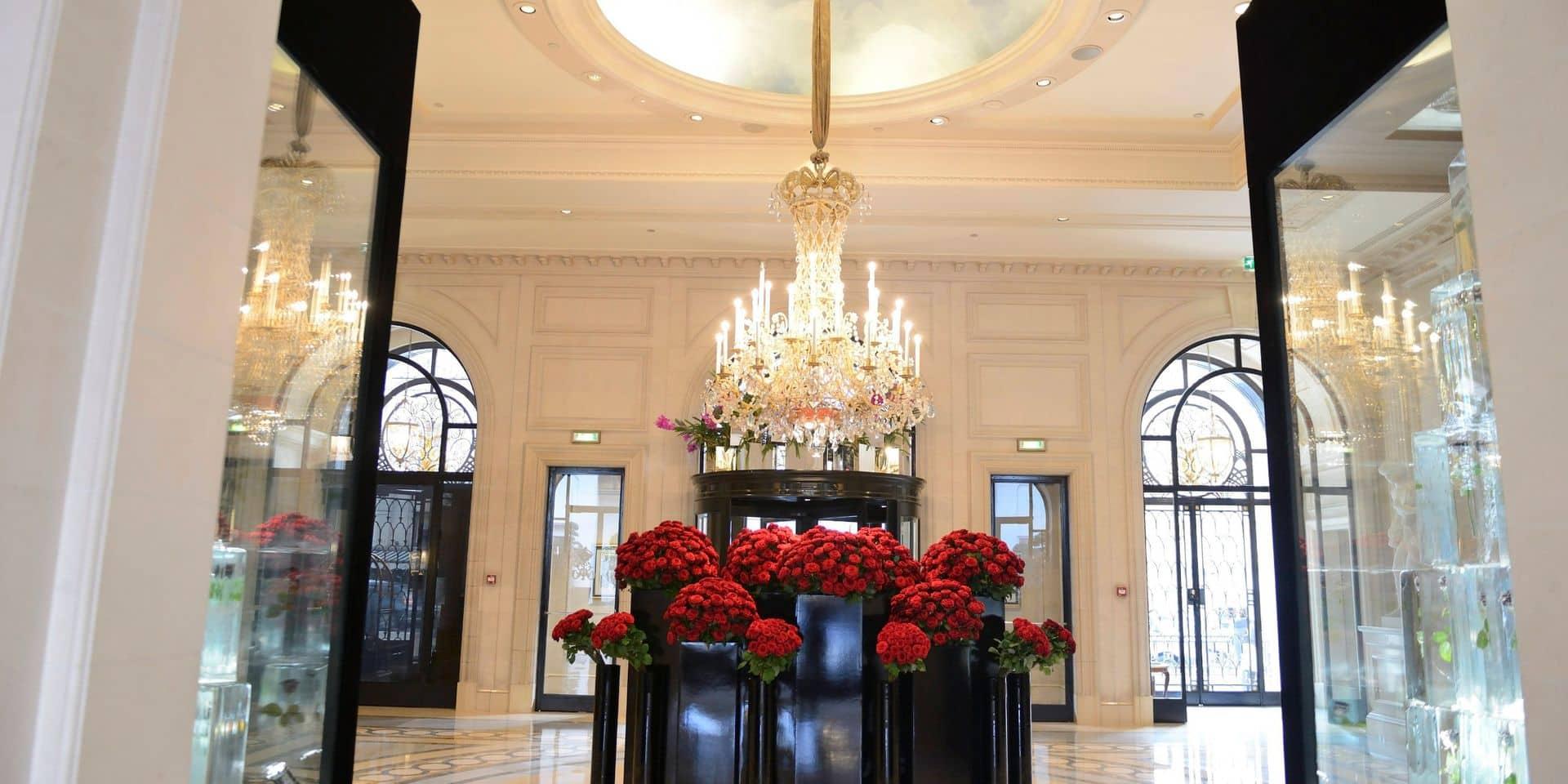 Braquage dans un célèbre palace parisien: les voleurs sont repartis avec 100.000 euros de bijoux!