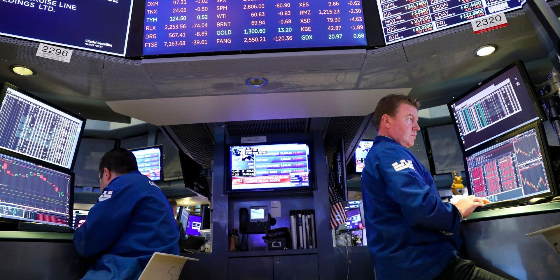 Wall Street ouvre quasi proche de l'équilibre, guettant les suites de la guerre commerciale