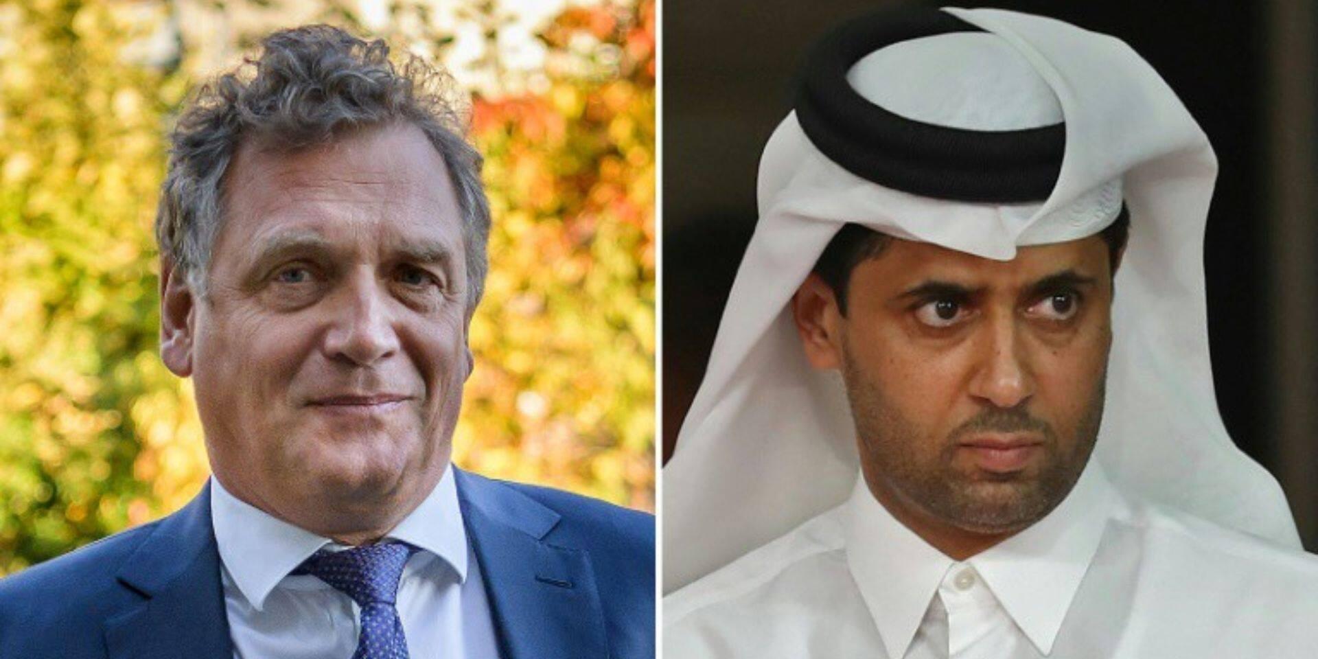 Corruption à la FIFA pour le Mondial 2022 au Qatar: amende avec sursis pour Jérôme Valcke, le président du PSG Nasser Al-Khelaïfi acquitté