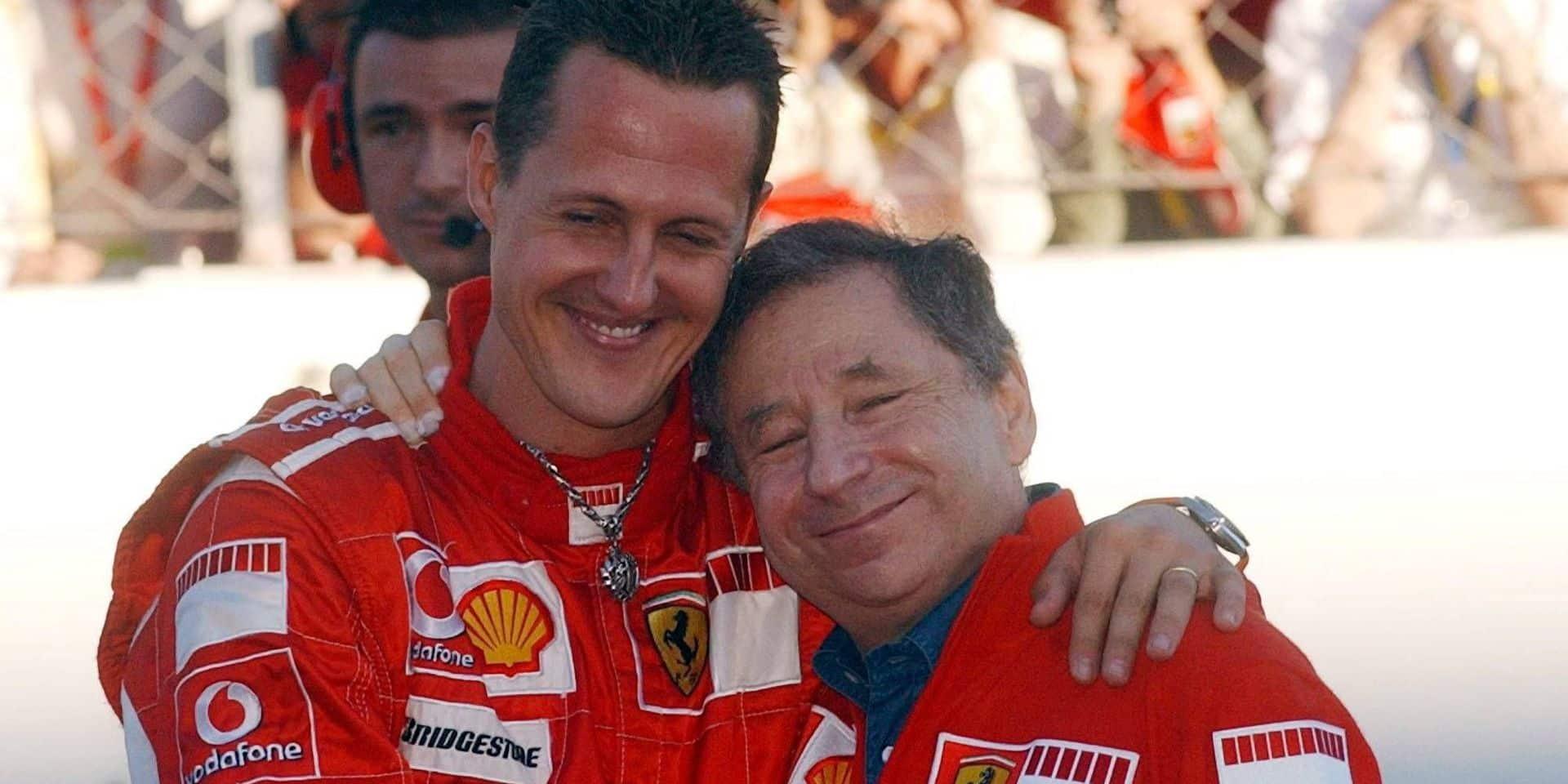 """Jean Todt: """"J'espère un jour venir sur un GP avec Michael Schumacher"""""""