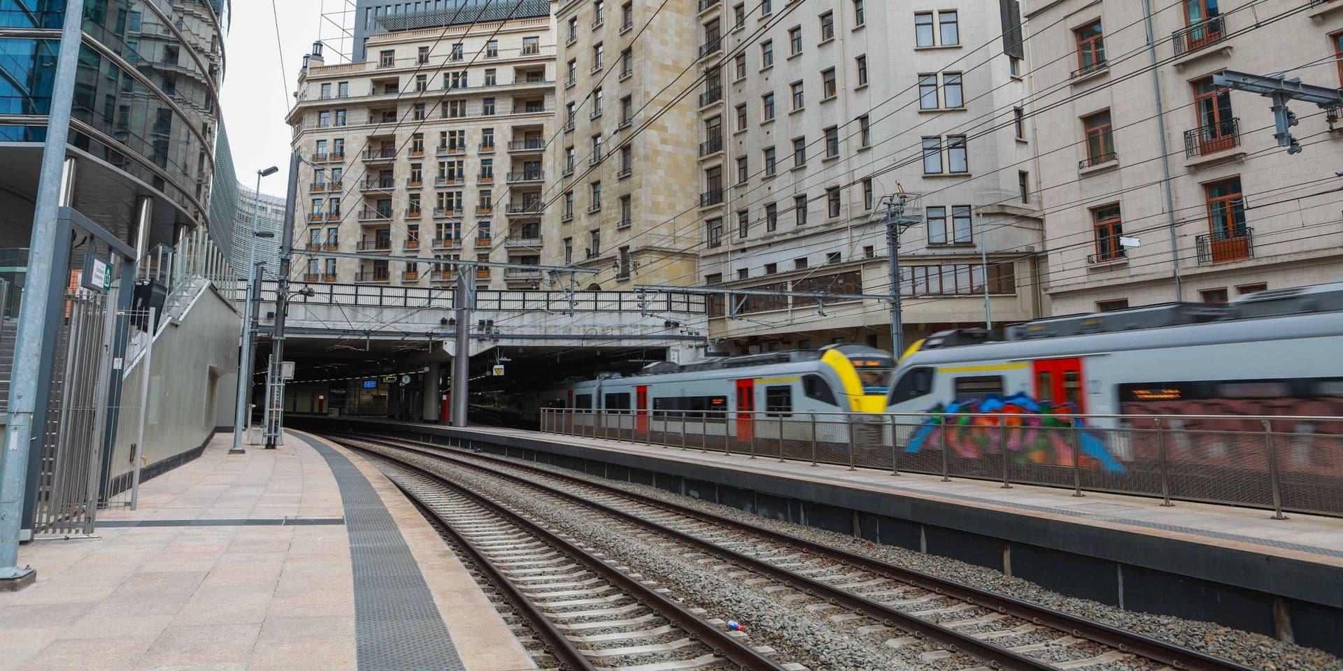 Coronavirus: la SNCB supprime plusieurs trains à partir de lundi