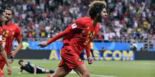 La Belgique, menée 0-2, rejoint le Brésil en 1/4 de finale du Mondial au terme d'un match épique contre le Japon ! (3-2)...