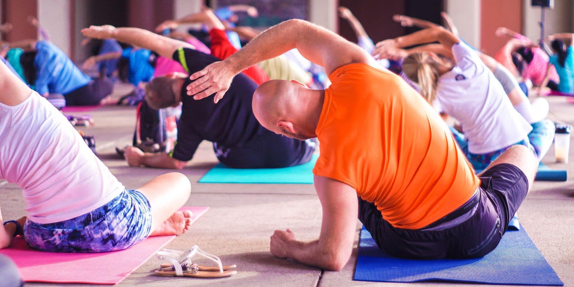 C'est fou ce que le yoga est bon pour l'homme