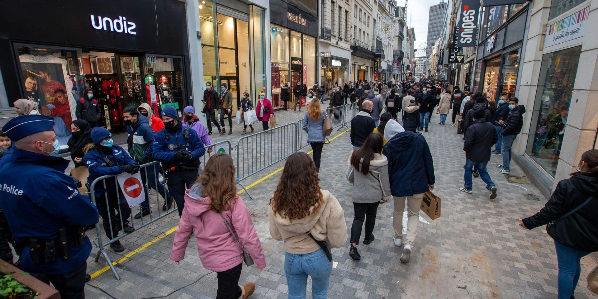 Reprise satisfaisante pour les commerçants de la rue Neuve à Bruxelles