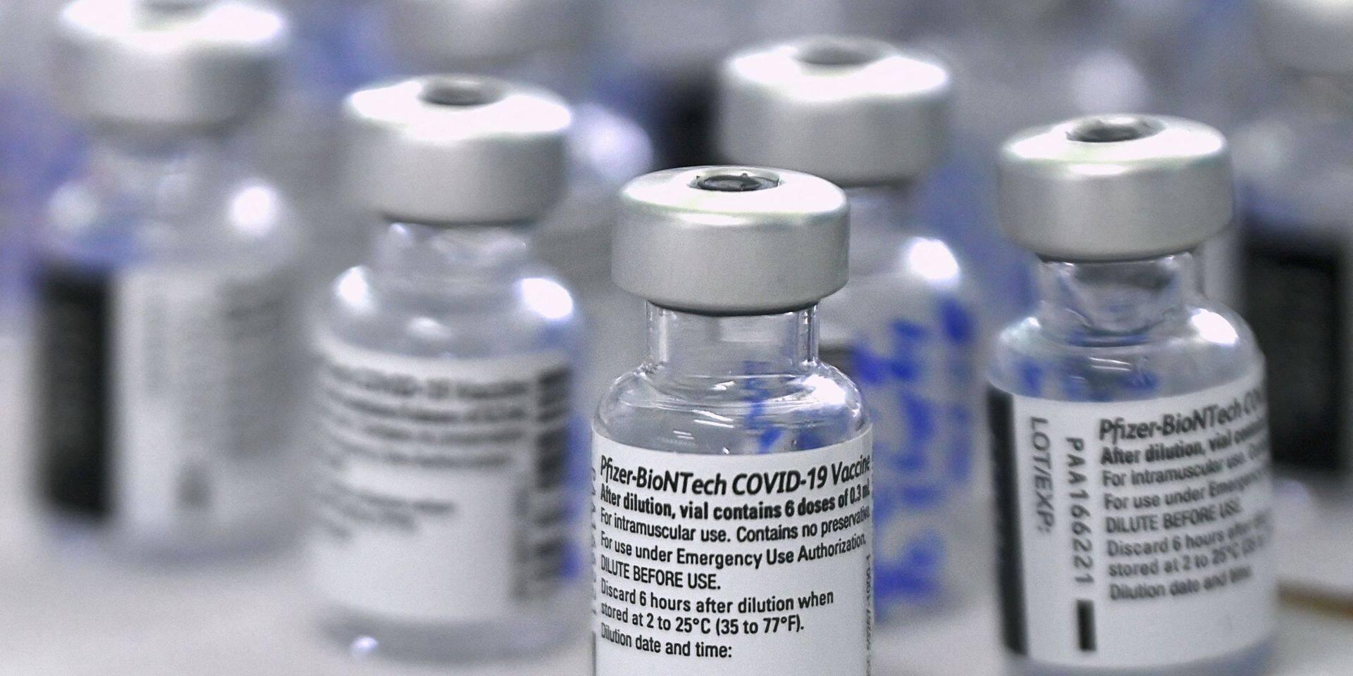 La livraison anticipée de Pfizer/BioNTech ne modifie pas la stratégie de vaccination