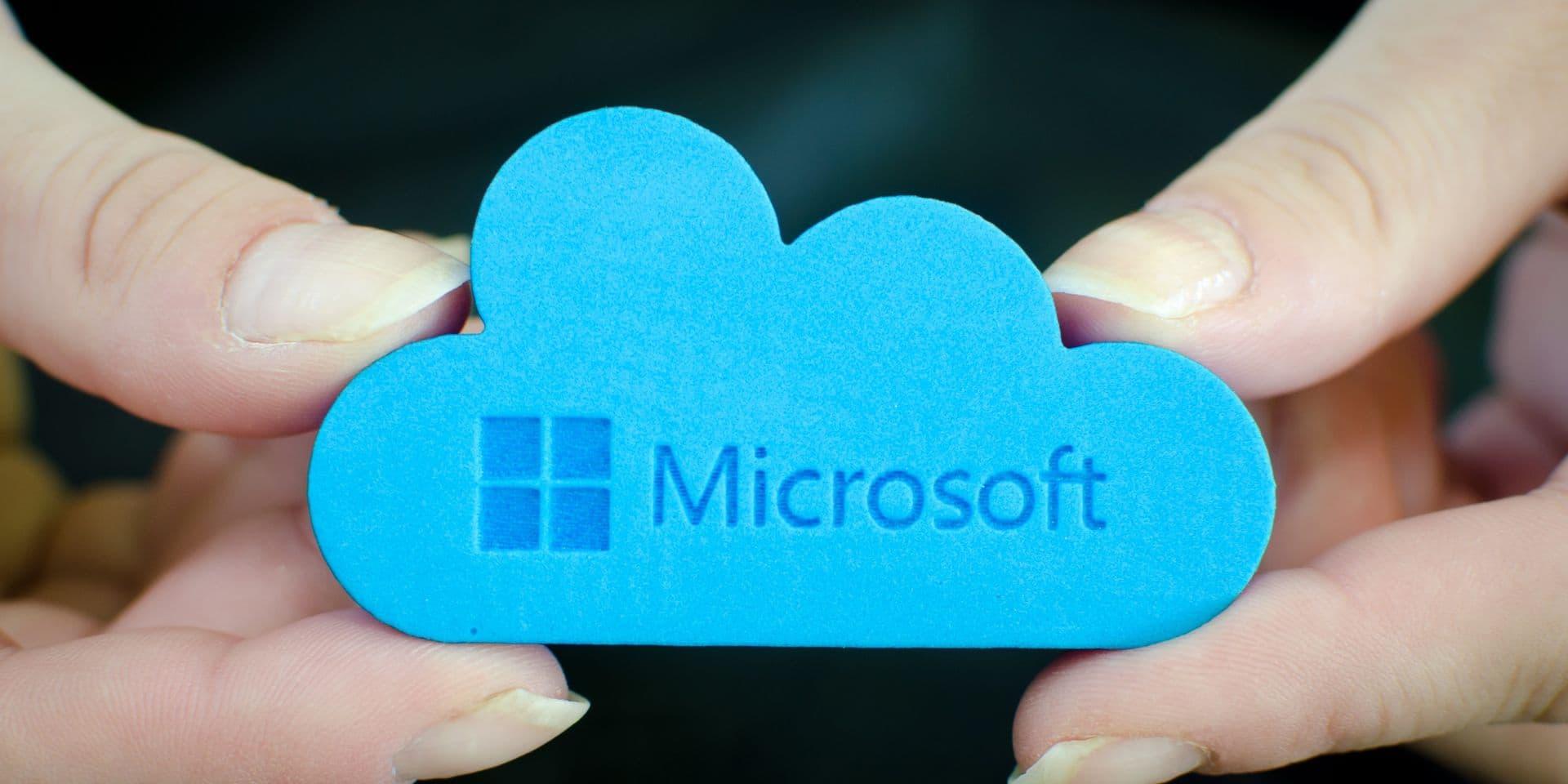 """Les données des clients européens de son """"cloud"""" resteront au sein de l'UE, garantit Microsoft"""
