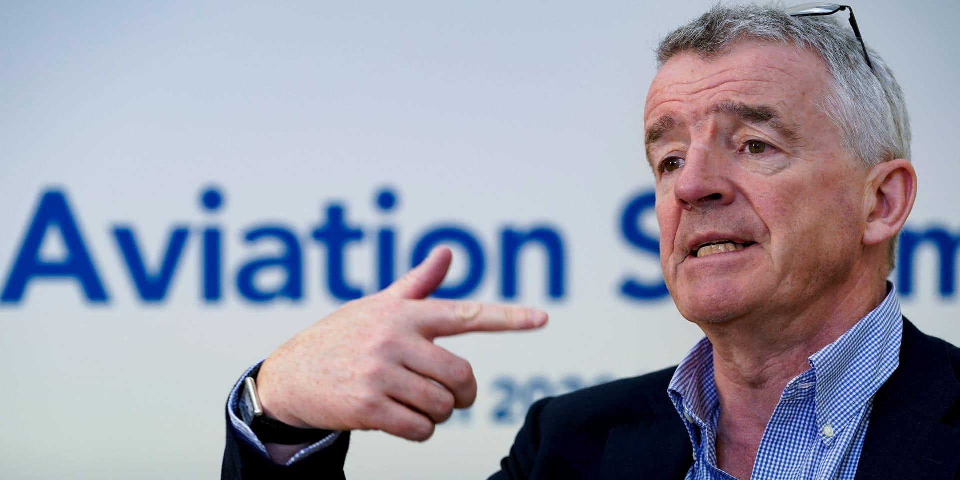 """Michael O'Leary, le patron de Ryanair : """"Ces compagnies qui pleurent pour être aidées me font penser à des junkies"""""""
