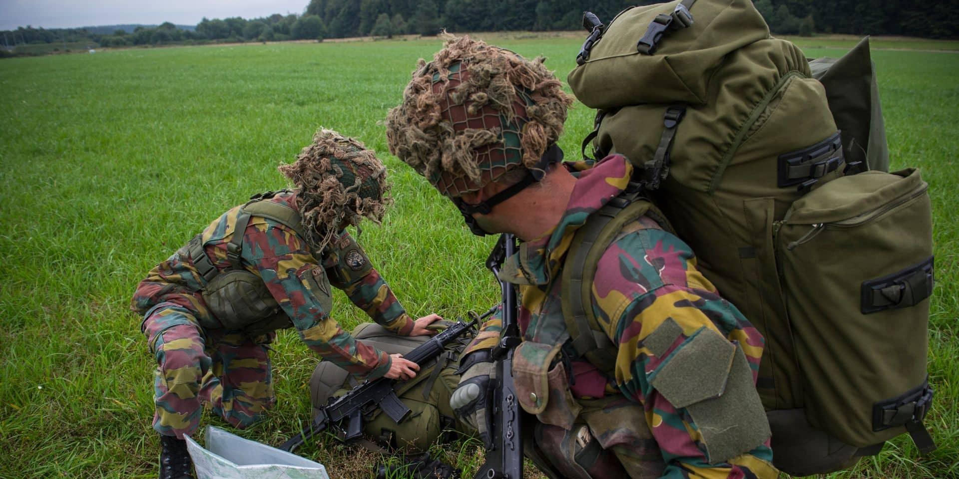 Tests physiques à l'armée: un quart des militaires en échec