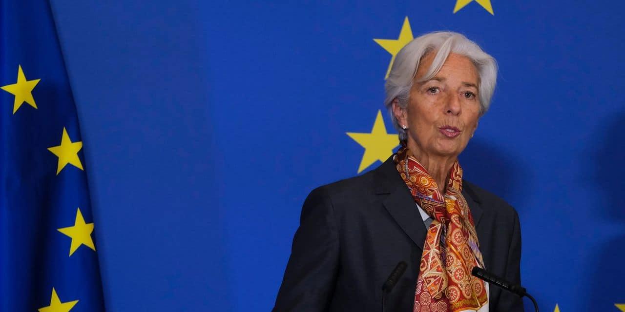 """Face à la crise, la BCE """"n'a pas brûlé toutes ses munitions"""", affirme Christine Lagarde"""