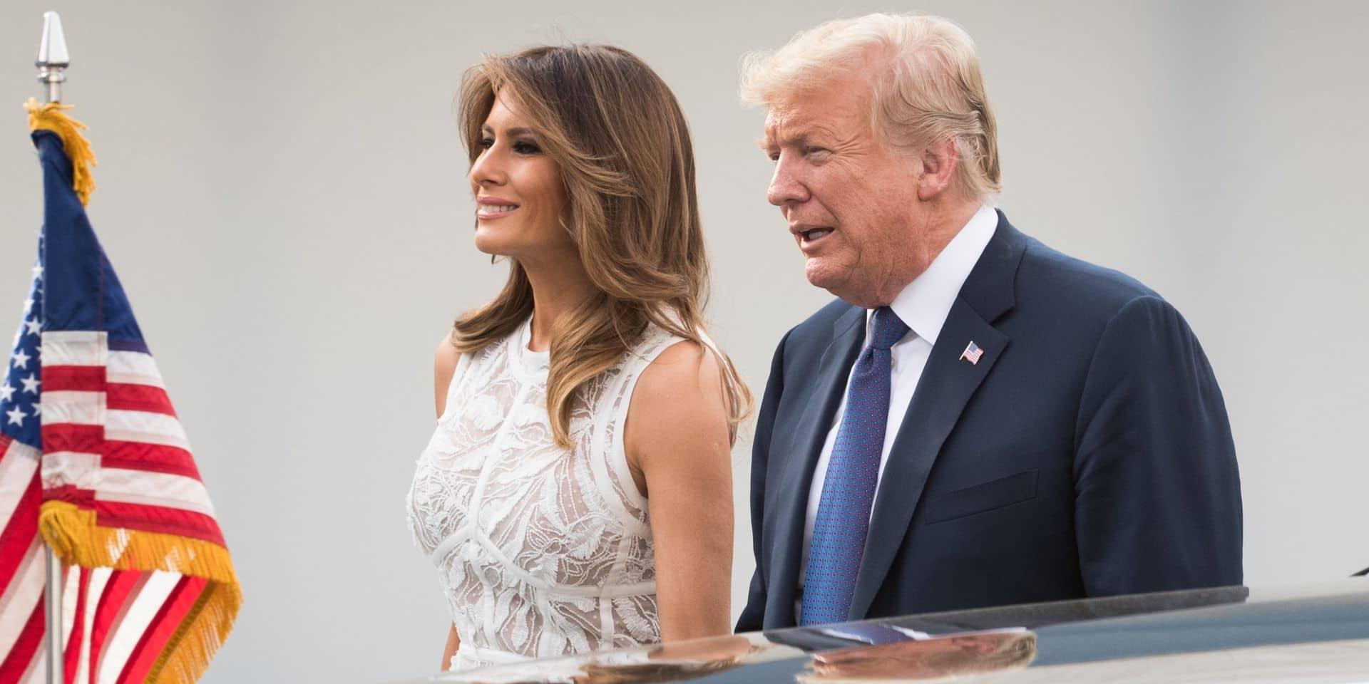 Donald Trump laisse échapper une information sur son couple qui n'irait pas si bien